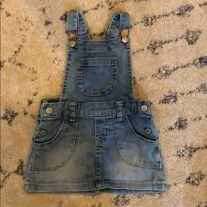 Cat and Jack toddler girl dress overalls